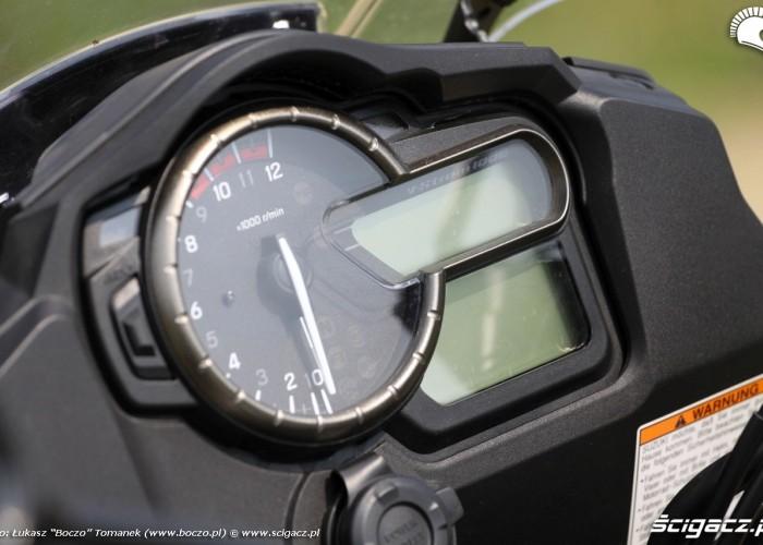 zegary Suzuki Vstrom1000