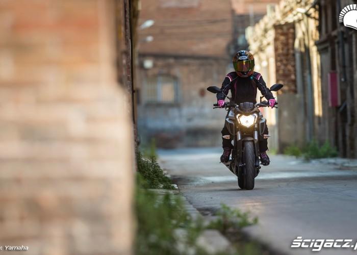 Yamaha MT 125 na terenie fabryki