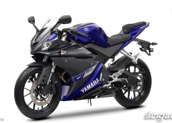 2014 Yamaha YZF R125 niebieska