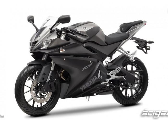 Czarna 2014 Yamaha YZF R125
