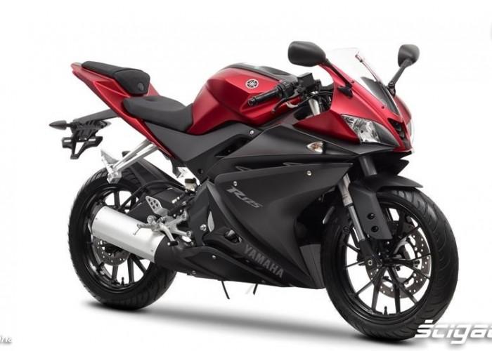 Czerowna 2014 Yamaha YZF R125