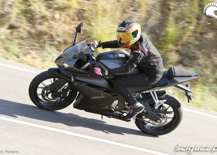 Jazda 2014 Yamaha YZF R125
