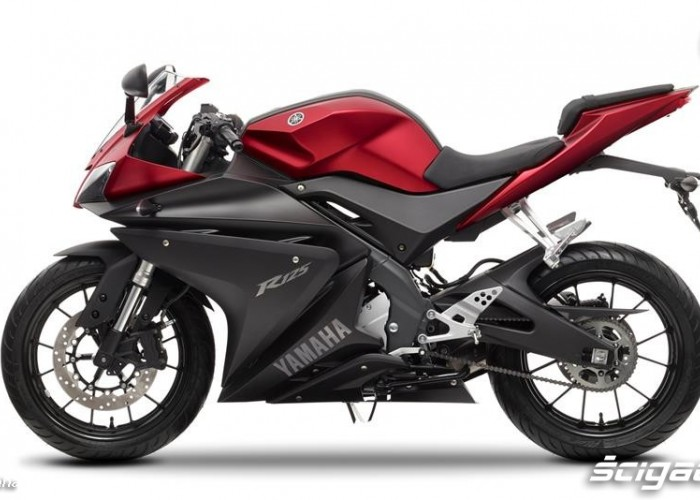 Lewy profil 2014 Yamaha YZF R125