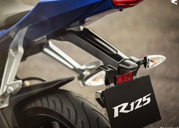 Uchwyt tablicy 2014 Yamaha YZF R125