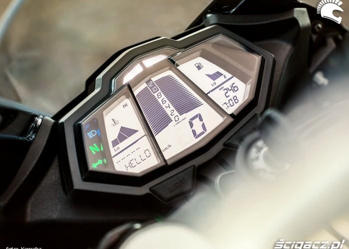 Wskazniki 2014 Yamaha YZF R125