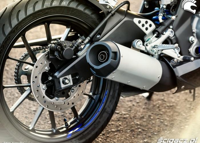 Wydech 2014 Yamaha YZF R125