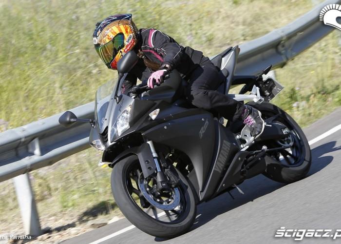 Zakrety 2014 Yamaha YZF R125