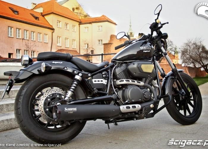 Czarna Yamaha XV950 Bolt 2014