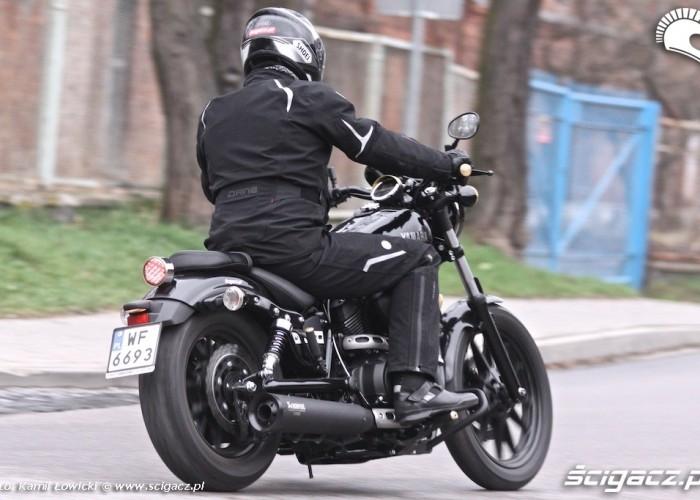 Jazda Yamaha XV950 Bolt 2014