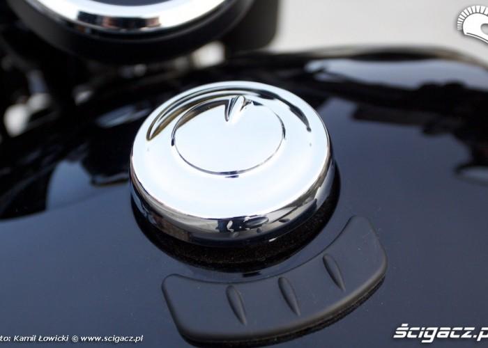 Yamaha XV950 2014 wlew paliwa