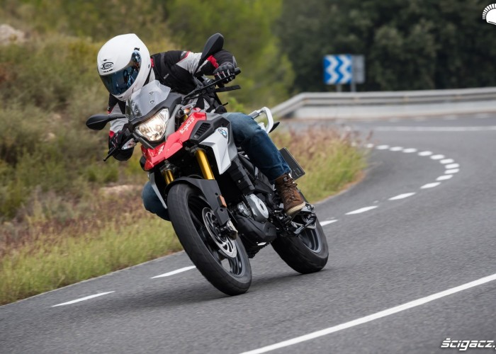 bmw g310 gs test