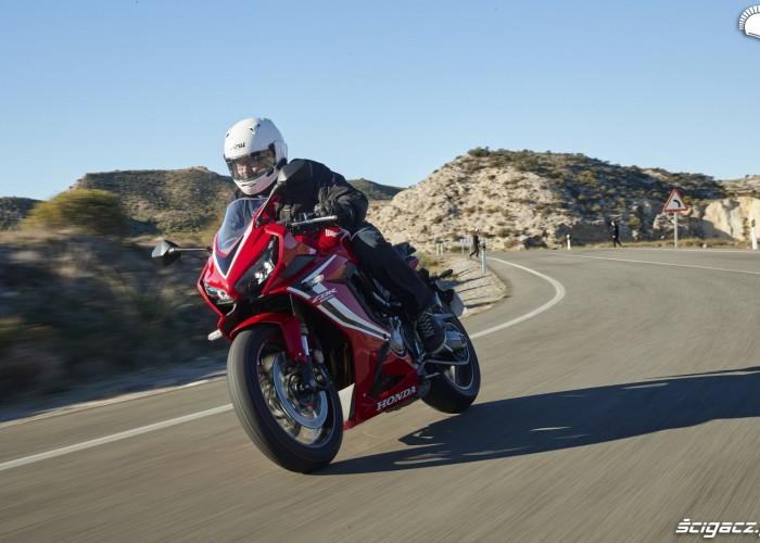 Honda CBR 650 R 2019 dynamika 15