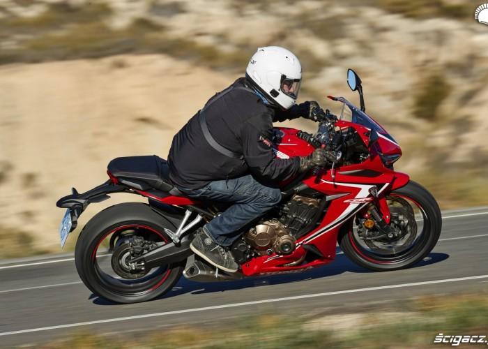 Honda CBR 650 R 2019 dynamika 17