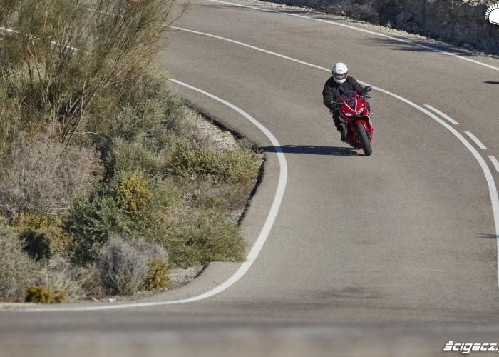 Honda CBR 650 R 2019 w jezdzie