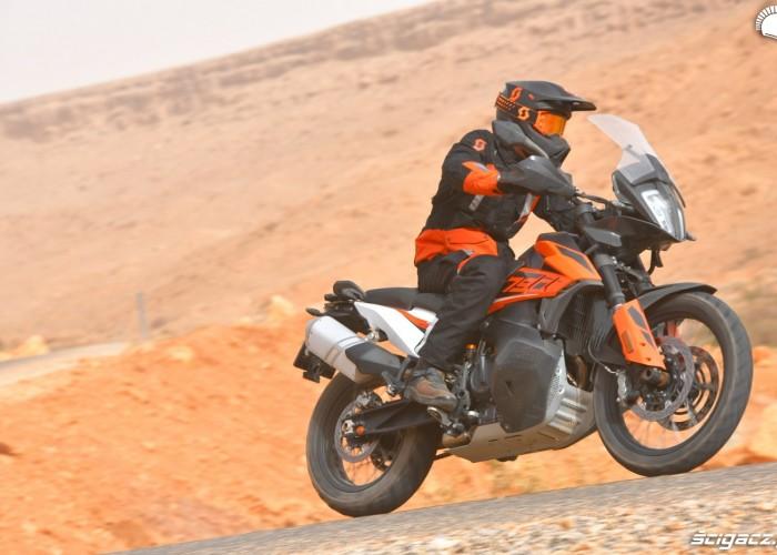 KTM 790 Adventure on road 03