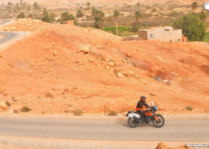 KTM 790 Adventure on road 12