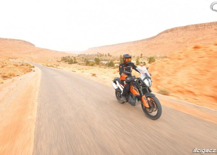 KTM 790 Adventure on road 16