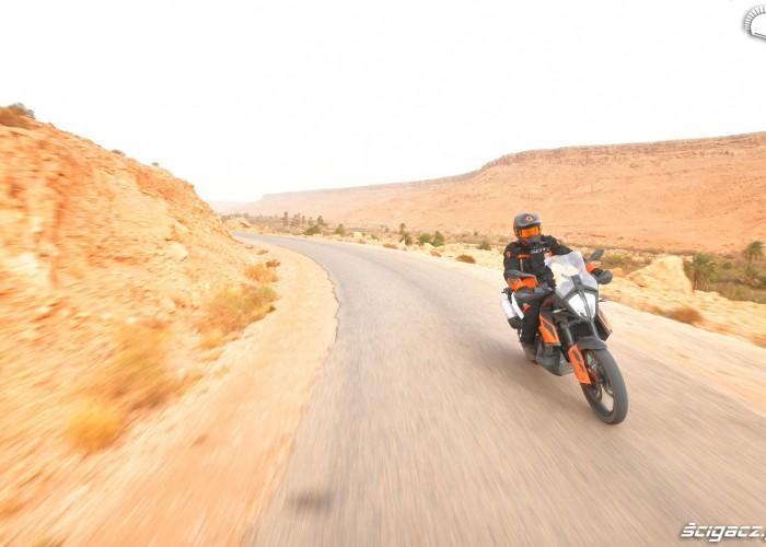 KTM 790 Adventure on road 17