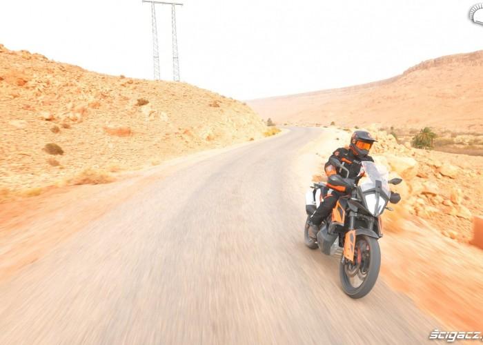 KTM 790 Adventure on road 18