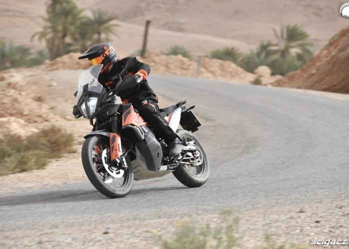 KTM 790 Adventure on road 21