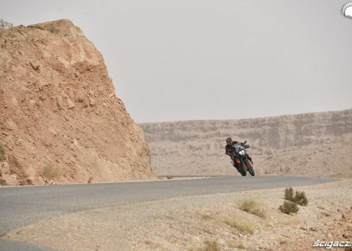 KTM 790 Adventure on road 24