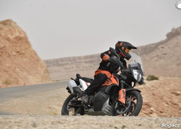 KTM 790 Adventure on road 26