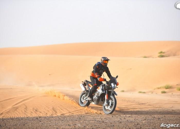 wydmy maroko ktm 790 adventure