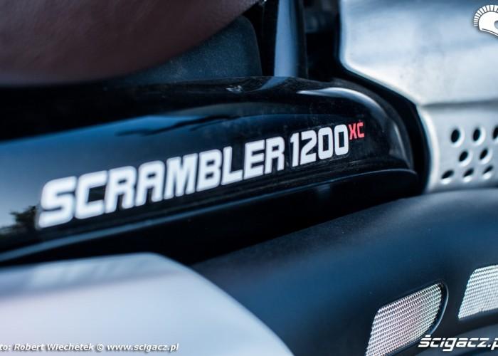 Triumph Scrambler 1200 XC logo