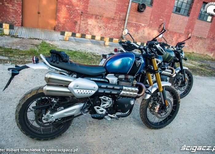 Triumph Scrambler 1200 XE VS XC 09