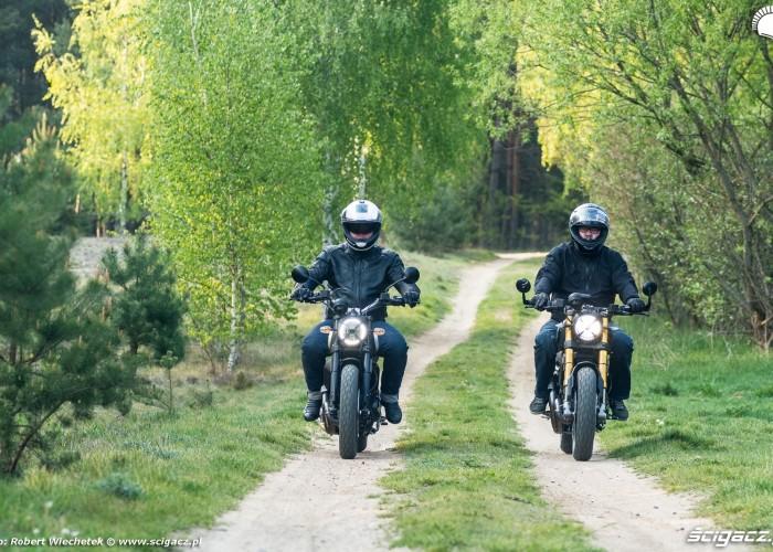 03 Ducati Scrambler 800 Ducati Scrambler 1100 polna droga