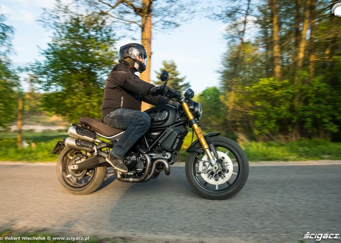 06 Ducati Scrambler 1100 w akcji