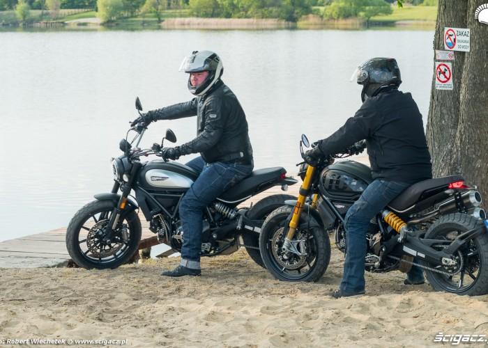 15 Ducati Scrambler 800 Ducati Scrambler 1100 test start