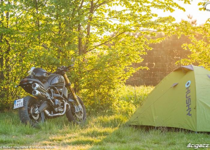 Ducati Scrambler 1100 namiot