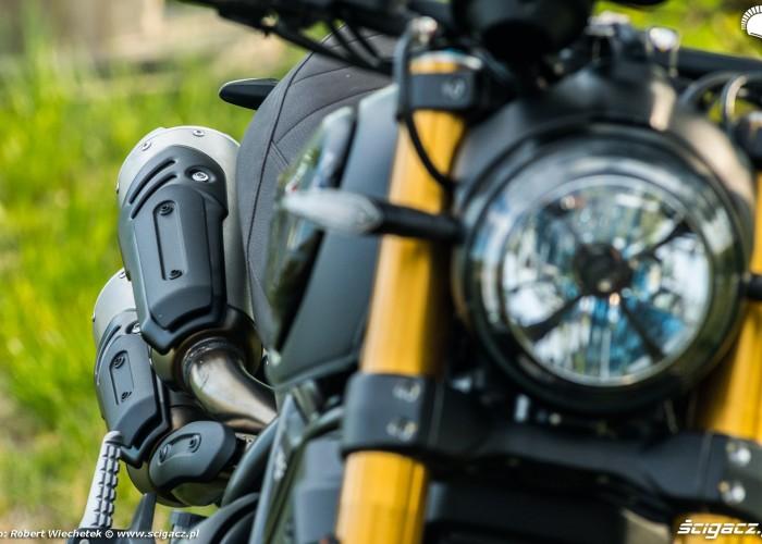 Ducati Scrambler 1100 reflektor