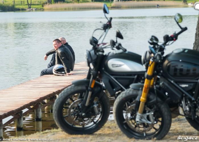 Ducati Scrambler 800 Ducati Scrambler 1100 fokus testerzy