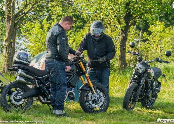 Ducati Scrambler 800 Ducati Scrambler 1100 naturalnie