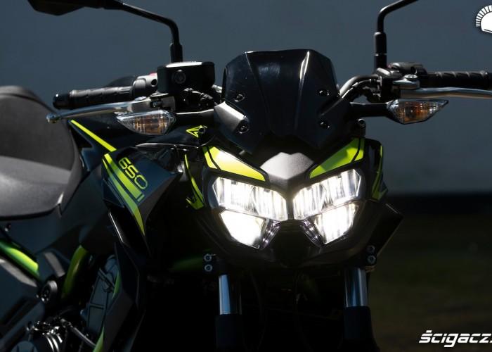 Kawasaki Z650 2020 lampa
