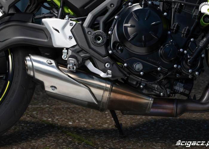 Kawasaki Z650 2020 silnik