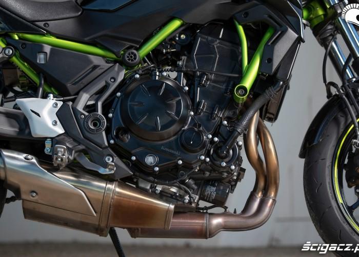 Kawasaki Z650 2020 wydech