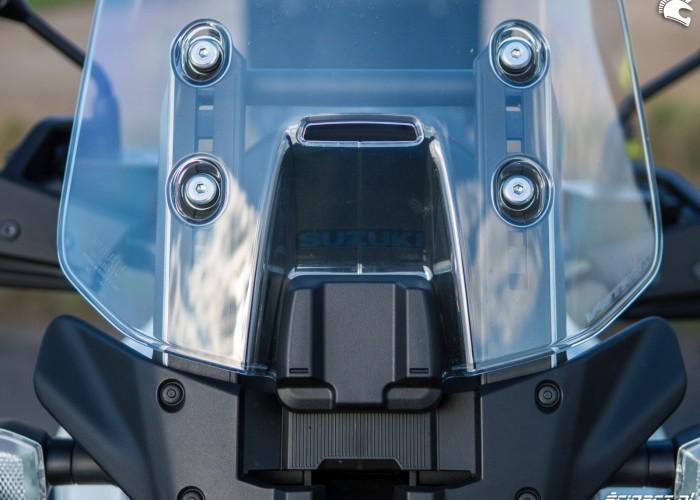 Suzuki VStrom 10150 07 regulacja szyby