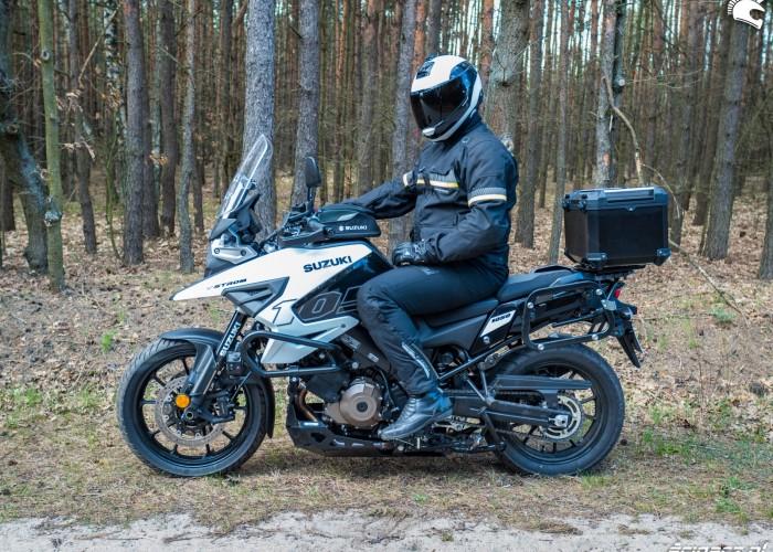 Suzuki VStrom 10150 35 stop