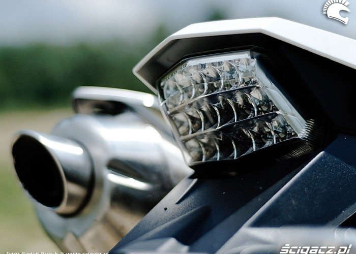 bmw 650 x challenge lampa tyl
