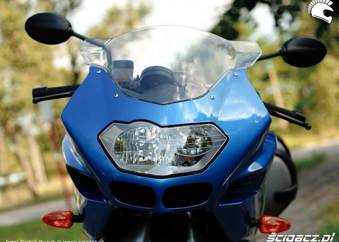 BMW K1200R przednia lampa