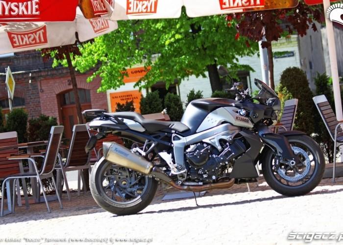 BMW K1300R ogrodek piwny