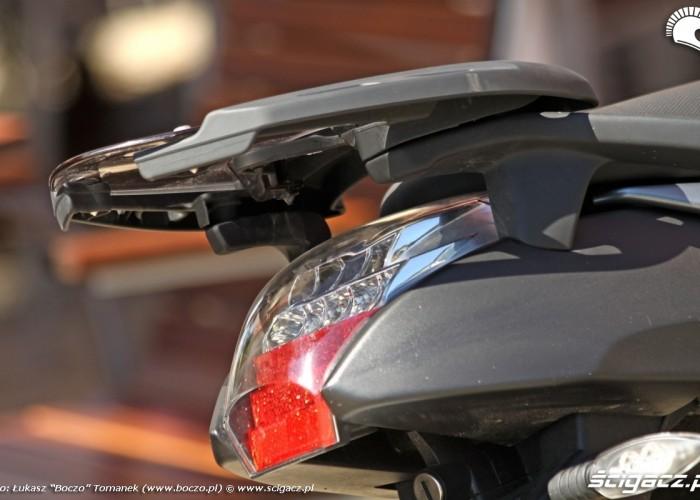 BMW K1300R tylna lampa