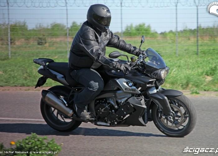 prawy bok jazda BMW K1300R