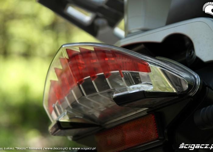 BMW R1200GS tylne swiatlo