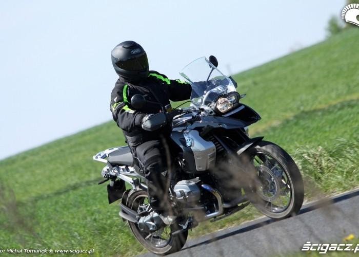 dynamiczne prawa strona BMW R1200GS