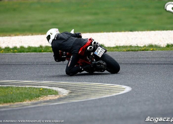 Ducati 848 od tylu