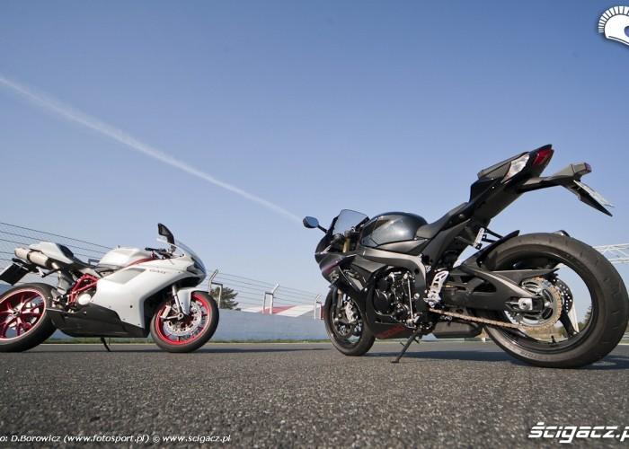 motocyle gsxr750 848 ducati suzuki porownanie tor poznan f1 20